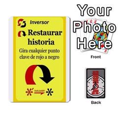 Queen Crononautas 1 By Javier Benítez   Playing Cards 54 Designs   Twqqtesf5yix   Www Artscow Com Front - DiamondQ