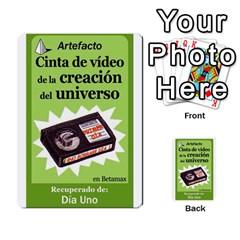 Crononautas 2 By Javier Benítez   Multi Purpose Cards (rectangle)   Buuyhxzn9bns   Www Artscow Com Front 6