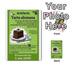 Crononautas 2 By Javier Benítez   Multi Purpose Cards (rectangle)   Buuyhxzn9bns   Www Artscow Com Front 15