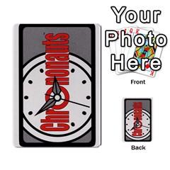 Crononautas 2 By Javier Benítez   Multi Purpose Cards (rectangle)   Buuyhxzn9bns   Www Artscow Com Back 3