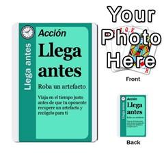 Crononautas 2 By Javier Benítez   Multi Purpose Cards (rectangle)   Buuyhxzn9bns   Www Artscow Com Front 35