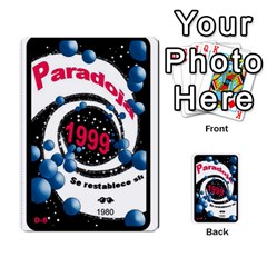 Crononautas 3 By Javier Benítez   Multi Purpose Cards (rectangle)   95k45v1txzd2   Www Artscow Com Back 27
