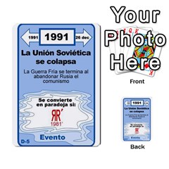 Crononautas 3 By Javier Benítez   Multi Purpose Cards (rectangle)   95k45v1txzd2   Www Artscow Com Front 44