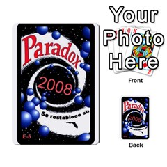 Crononautas 3 By Javier Benítez   Multi Purpose Cards (rectangle)   95k45v1txzd2   Www Artscow Com Back 48