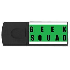 Geek Squad 4gb Usb Flash Drive (rectangle) by Misfits