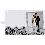 wedding - Apple iPad 2 Woven Pattern Leather Folio Case