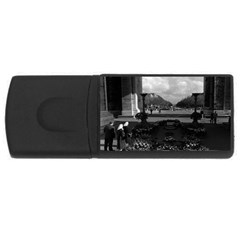 Vintage France Paris Triumphal Arch Unknown Soldier 4gb Usb Flash Drive (rectangle) by Vintagephotos