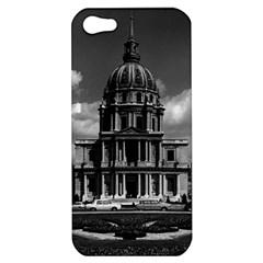Vintage France Paris Church Saint Louis Des Invalides Apple Iphone 5 Hardshell Case by Vintagephotos