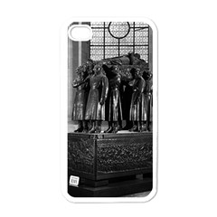 Vintage France Paris  Invalides Marshal Foch Tomb 1970 White Apple Iphone 4 Case by Vintagephotos