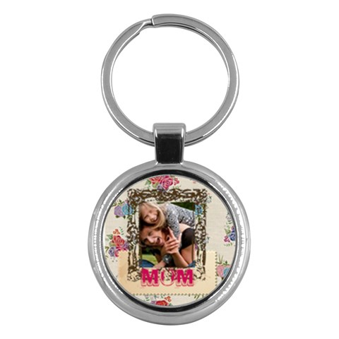 Mothers Day By Jo Jo   Key Chain (round)   Yxwa7yh2e6cg   Www Artscow Com Front