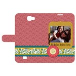 mothers day - Samsung Galaxy Note 2 Woven Pattern Leather Folio Case