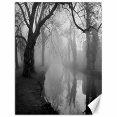 Foggy Morning, Oxford 12  X 16  Unframed Canvas Print