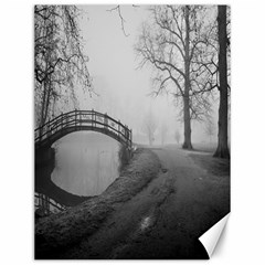 Foggy morning, Oxford 12  x 16  Unframed Canvas Print by artposters