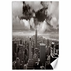 New York, Usa 12  X 18  Unframed Canvas Print by artposters