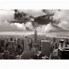 New York, Usa 18  X 24  Unframed Canvas Print by artposters