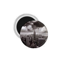 New York, Usa Small Magnet (round) by artposters