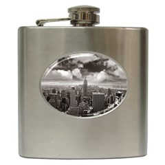 New York, Usa Hip Flask by artposters