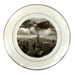 New York, USA Porcelain Display Plate by artposters