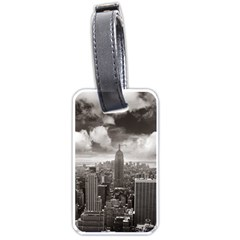 New York, Usa Twin Sided Luggage Tag by artposters