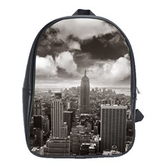 New York, Usa School Bag (xl) by artposters