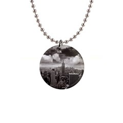 New York, Usa Mini Button Necklace by artposters