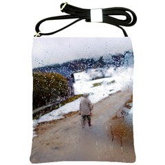 Rainy Day, Salzburg Cross Shoulder Sling Bag by artposters