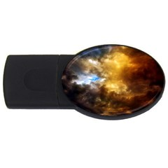 Cloudscape 4gb Usb Flash Drive (oval) by artposters