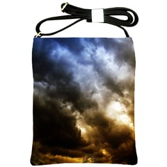 Cloudscape Cross Shoulder Sling Bag by artposters