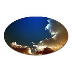Cloudscape Large Sticker Magnet (oval) by artposters