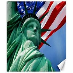 Statue of Liberty, New York 8  x 10  Unframed Canvas Print