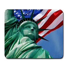 Statue Of Liberty, New York Large Mouse Pad (rectangle) by artposters