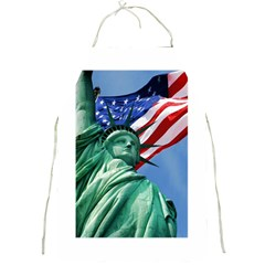 Statue Of Liberty, New York Apron by artposters