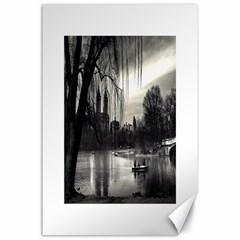 Central Park, New York 24  X 36  Unframed Canvas Print