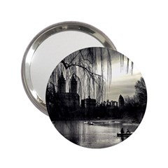 Central Park, New York Handbag Mirror by artposters