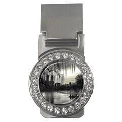 Central Park, New York Money Clip With Gemstones (round) by artposters