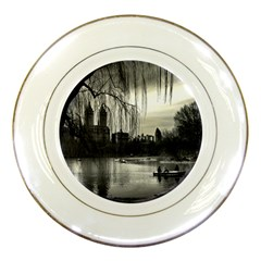 Central Park, New York Porcelain Display Plate by artposters