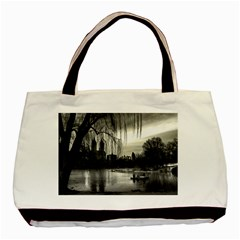 Central Park, New York Black Tote Bag by artposters