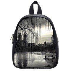 Central Park, New York Small School Backpack by artposters