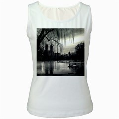 Central Park, New York White Womens  Tank Top by artposters
