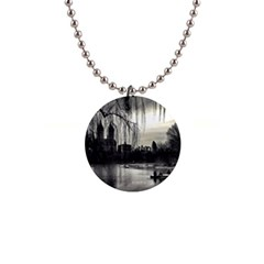Central Park, New York Mini Button Necklace by artposters