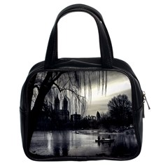 Central Park, New York Twin-sided Satchel Handbag by artposters