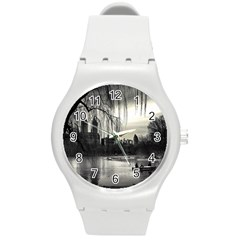 Central Park, New York Round Plastic Sport Watch Medium by artposters