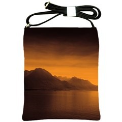 Waterscape, Switzerland Cross Shoulder Sling Bag by artposters