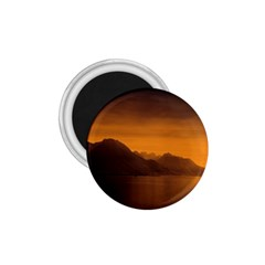 Waterscape, Switzerland Small Magnet (round) by artposters