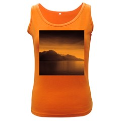 Waterscape, Switzerland Dark Colored Womens'' Tank Top by artposters