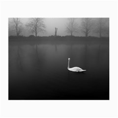 swan Glasses Cleaning Cloth by artposters