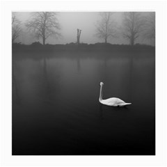 swan Single-sided Large Glasses Cleaning Cloth by artposters