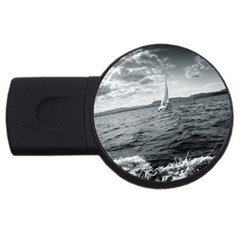 sailing 4Gb USB Flash Drive (Round) by artposters