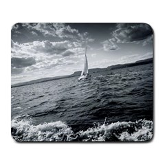 Sailing Large Mouse Pad (rectangle) by artposters