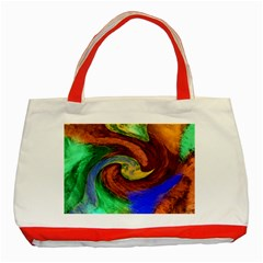 Culture Mix Red Tote Bag by dawnsebaughinc